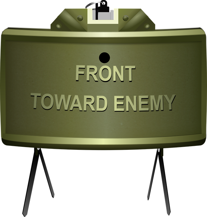 Claymore Mine Army - Free vector graphic on Pixabay