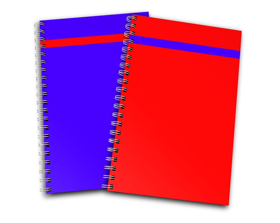notebook report stationary free image on pixabay