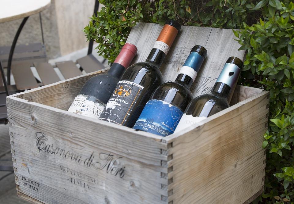 Weine, Tuscany, Montalcino, Made In Italy, Rotwein