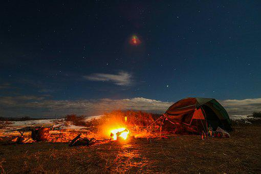 Live In Nature Starry Sky Bonfire Tent Vac : fire in tent - memphite.com
