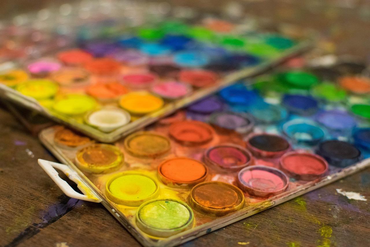интересные картинки красок дачные