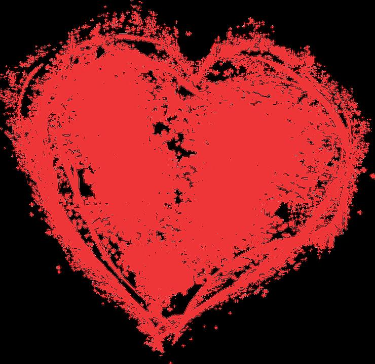 Heart Paint Splatter G...