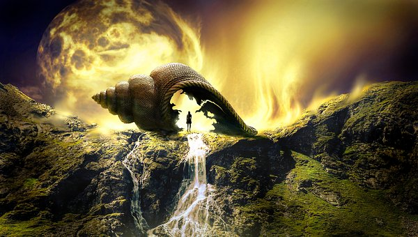 Fantazie, Krajiny, Mystický, Světlo