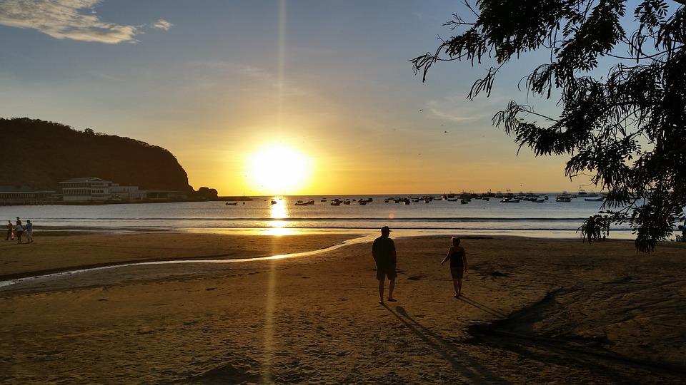 Sanjuandelsur, Plage, Nicaragua, Mer, Vacances, Paysage