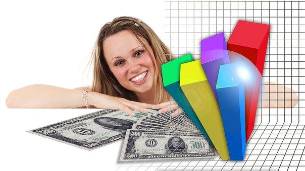女性の力, ビジネス女性, 実業家, 経済, 金融, 自信, 成功, ビジネス