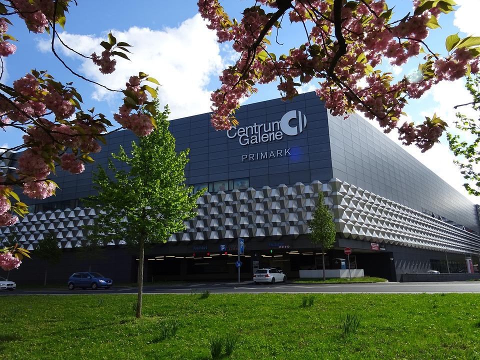 Centrum Galerie auf der Prager Straße Dresden