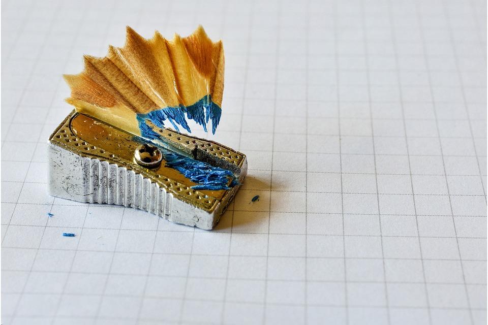 Sharpener Pencil Office School Education