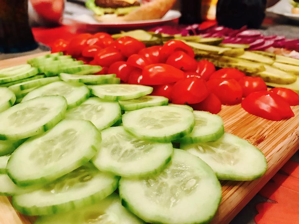 Saludable, Los Alimentos, Comer, Ensalada, Nutrición