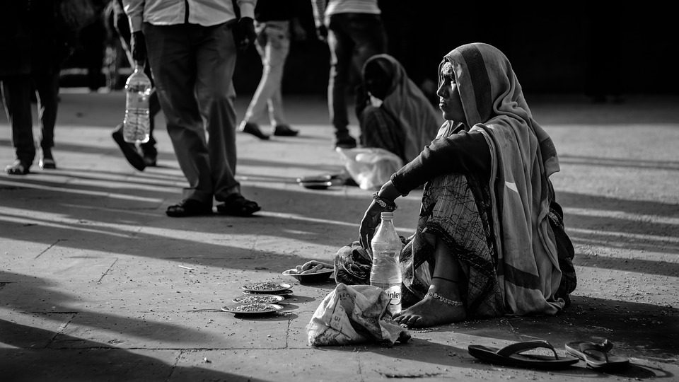 Street, Beggar, Woman, Homeless, Poverty, Poor, People
