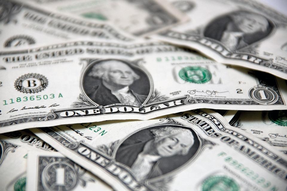 お金, ドル, 札, 現金, 通貨, 富, 銀行, ドル紙幣, Usd, グレーの金, 灰色の銀行