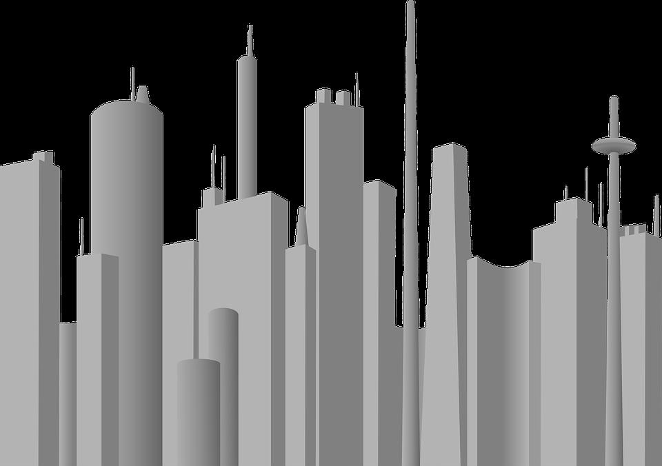 kota abu siluet gambar vektor gratis di pixabay kota abu siluet gambar vektor gratis