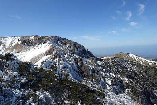 Musim Dingin, Gunung Salju, Pulau Jeju