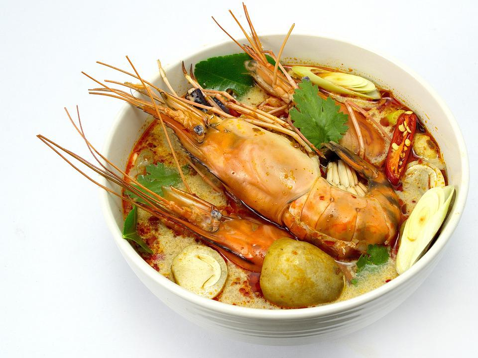トム・ヤム・クン, 麻婆豆腐, タイ料理, タイ, シャーレ, エビ, 食品, 食材, 海, フレーバー