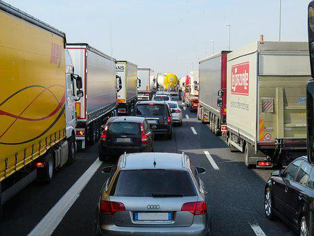 Trafic, Transport, Confiture, Autoroute