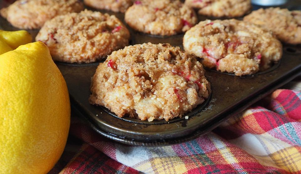 Apfel Cranberry Muffins