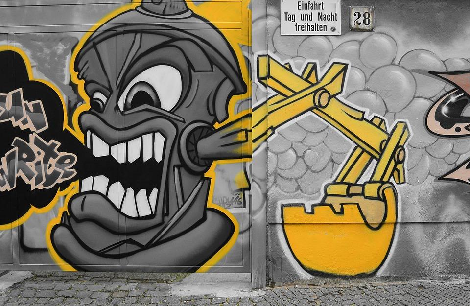 graffiti street art urban  u00b7 free photo on pixabay
