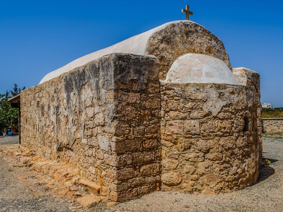 Chapel, Old, Potamos Liopetri, Cyprus, Church