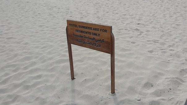 Beach, Emirates, Abu Dhabi, U A E