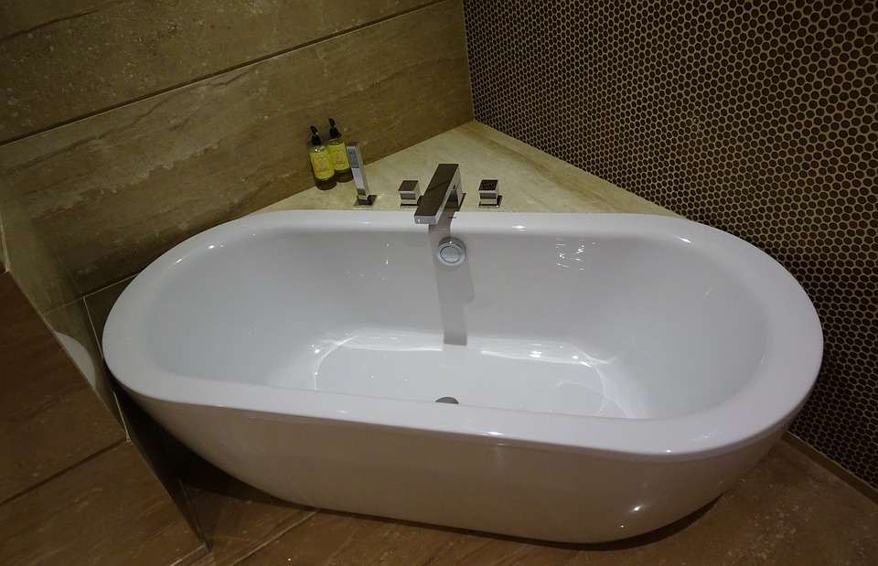 Tub Bathtub Bathroom Modern Style Hygiene Indoor