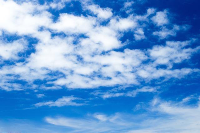 Fotos E Imagenes Cielo Azul Con Nubes: Sky Blue Clouds · Free Photo On Pixabay