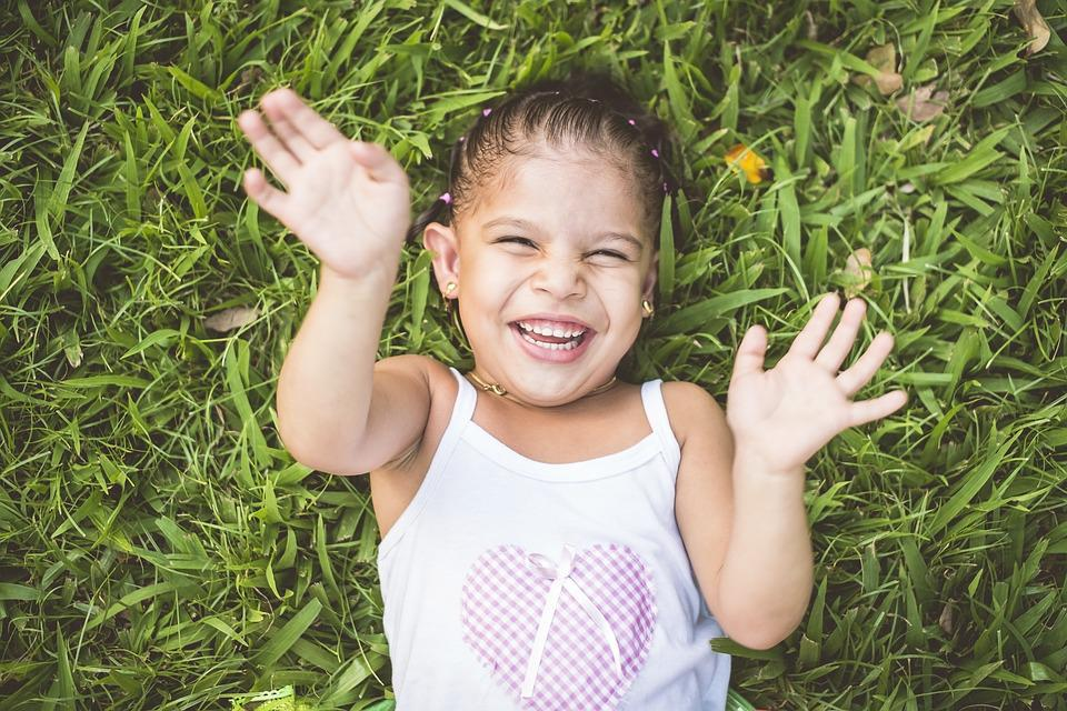 Girl, Happiness, Happy, Joy, Happy Children, Playing