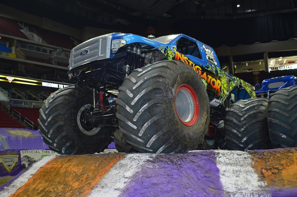 monster truck jam  photo  pixabay