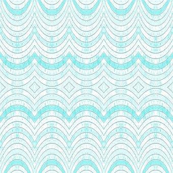 Textur, Struktur, Geometrischen, Wellen