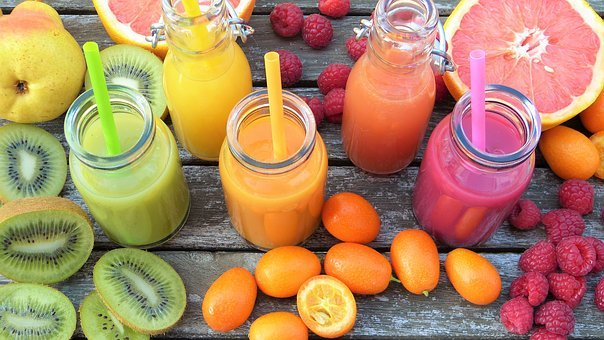 Smoothies, Fruits, Colorful, Vitamins