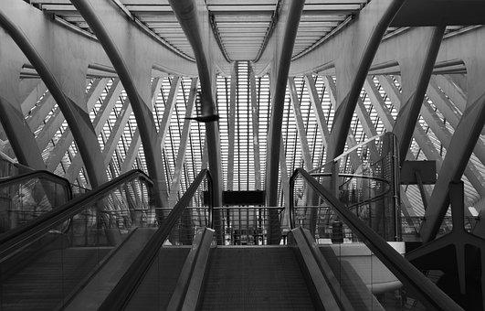 Railway Station, Liege, Liège