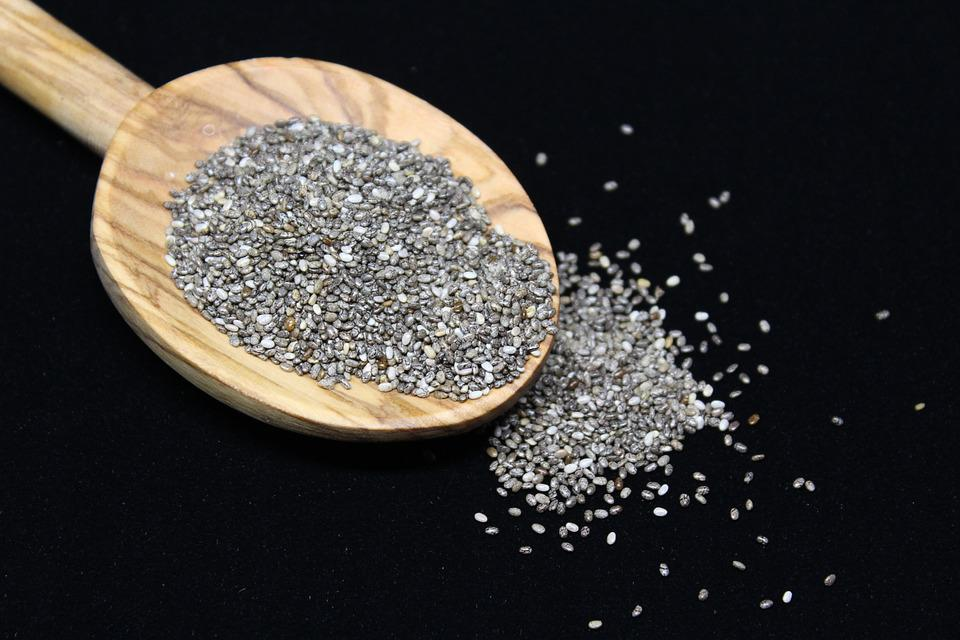 Chia Seeds, Chia, Mexican Chia, Salvia Hispanica