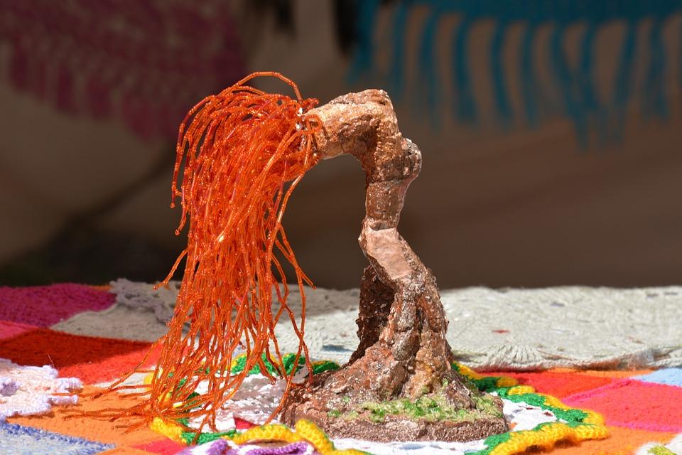 Beading Tree Handicraft Project Free Photo On Pixabay