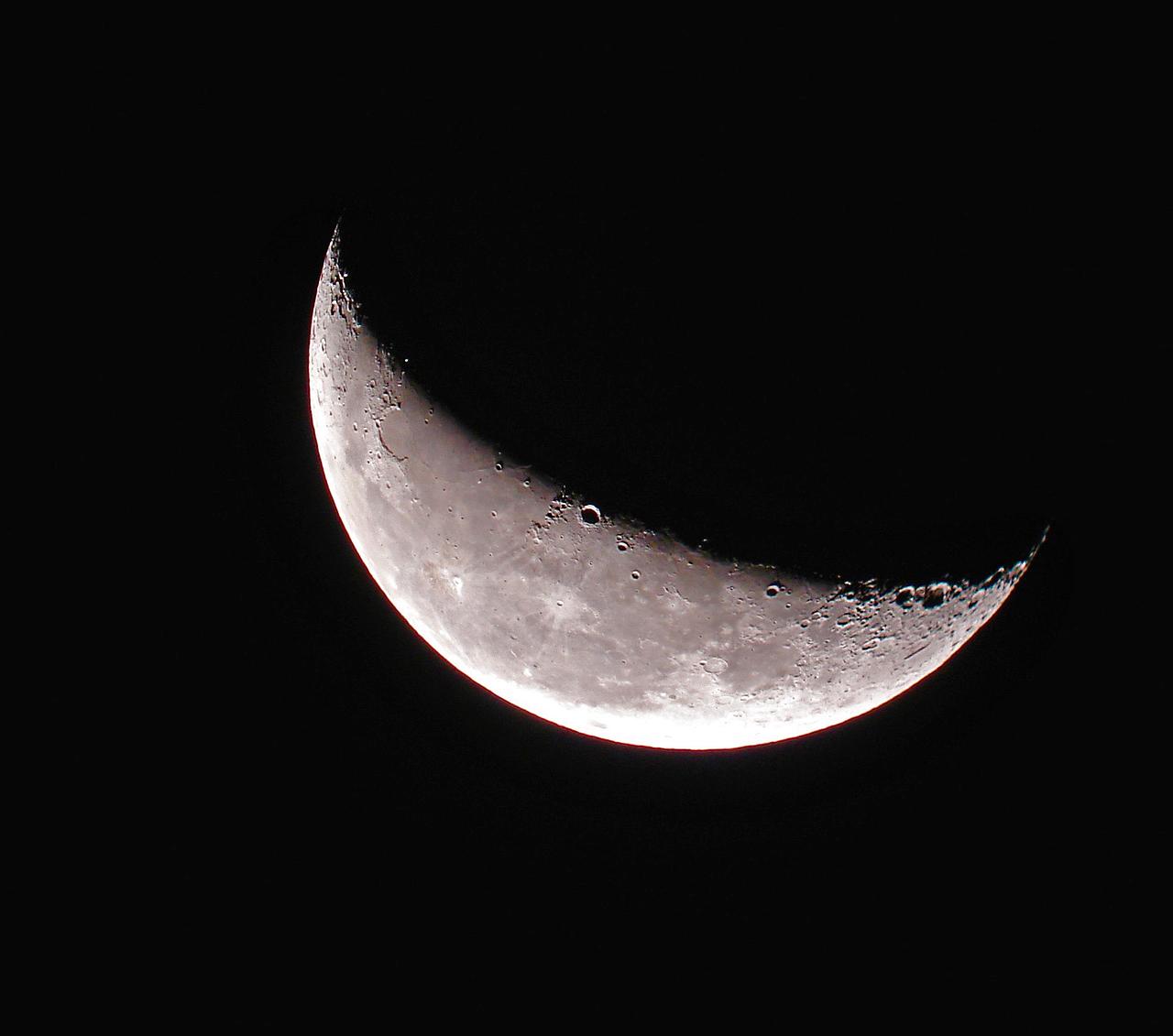 история привлекла фотографии полумесяц луны считает вполне