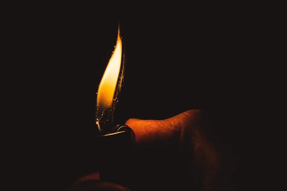 Fire Lighter Light Warm Burn Flame