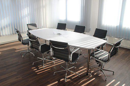Table, Office, Meeting, Work, Business