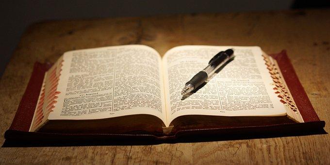 Bibel, Buch, Lesen, Tabelle
