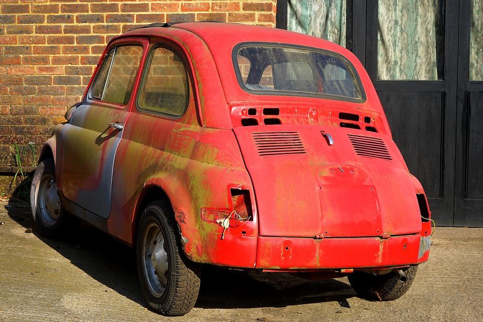 Car Fiat Vintage · Free photo on Pixabay