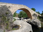 bridge, medieval, romanesque