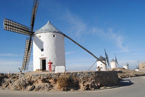 Qué ver qué hacer en Castilla la Mancha, Molinos de Viento