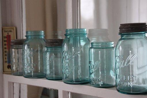 Mason Jars, Farm House, Rustic, Country