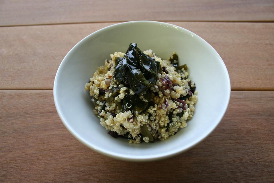 Le Quinoa, Algues, Alimentation Saine, Vegan