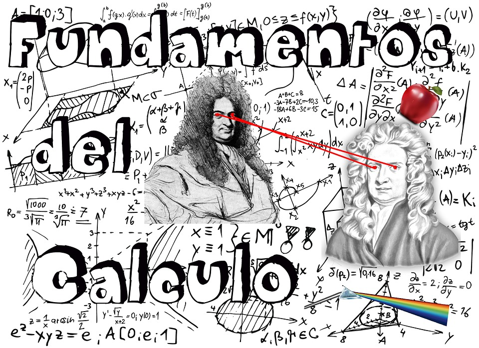 Notebook, Background, Math, Calculation, Newton