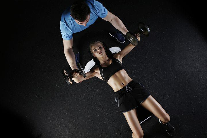Woman, Personal Trainer, Fitness