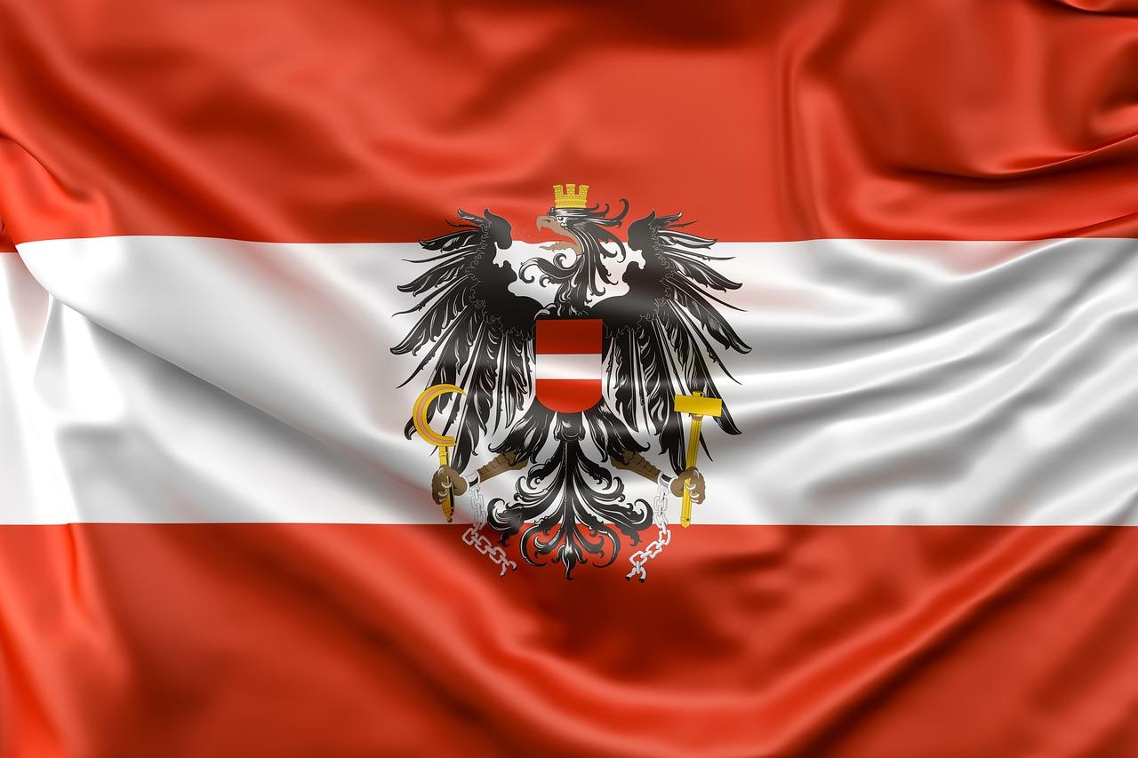 компания флаг и герб фото австрийский течение дня беремся