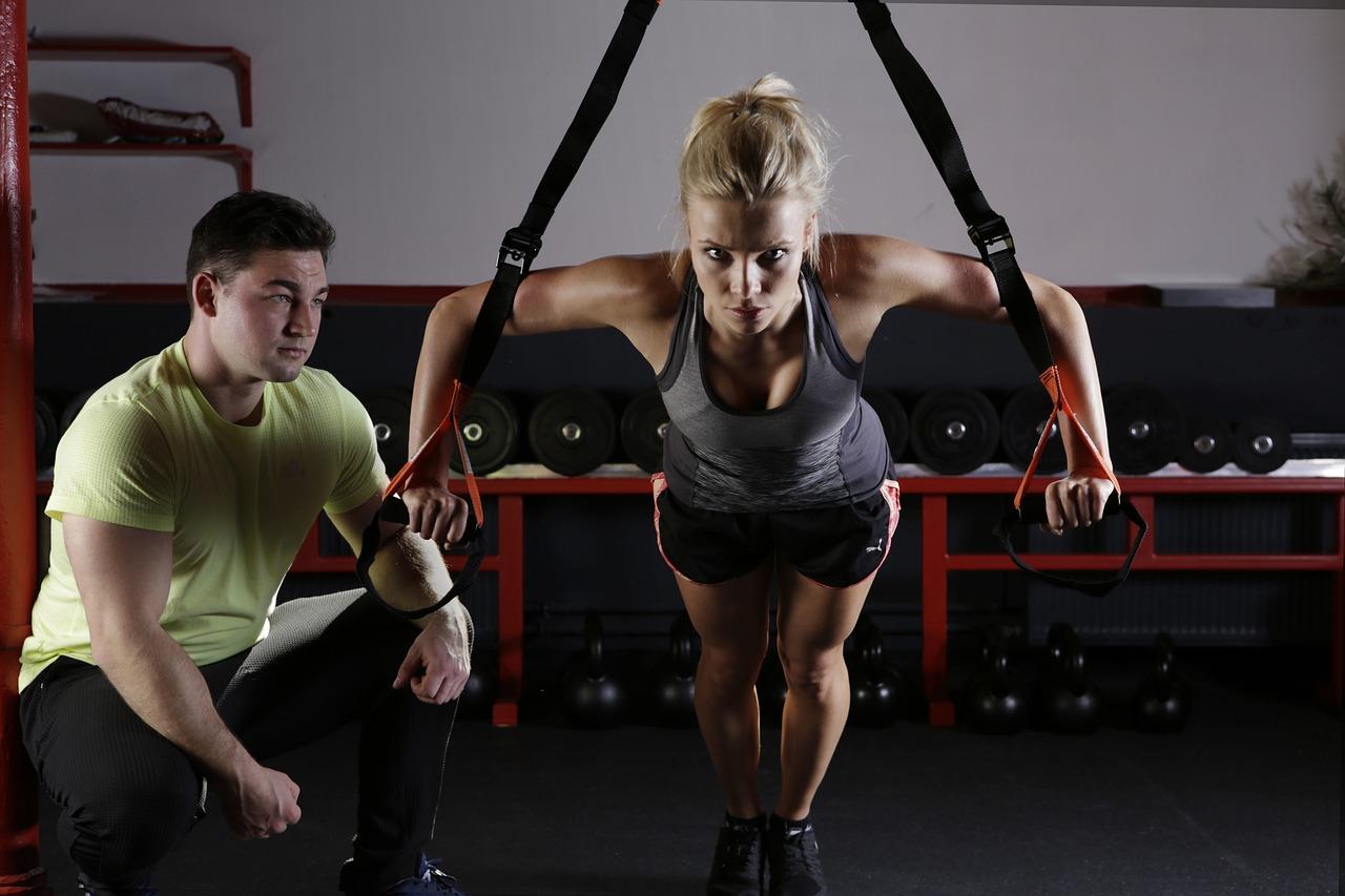スポーツ, フィットネス, トレーニング, スポーティです, 運動, 体操, 優雅です, フィット