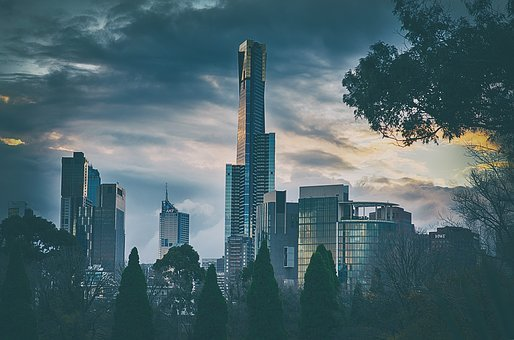 Australia's Party Capitals in 2020 Melbourne, City, Cityscape, Tower, Sky