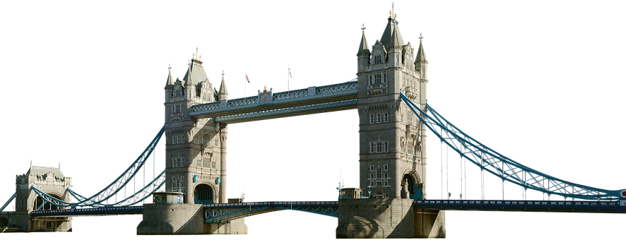 Tower Bridge Isolated London Places Of Int