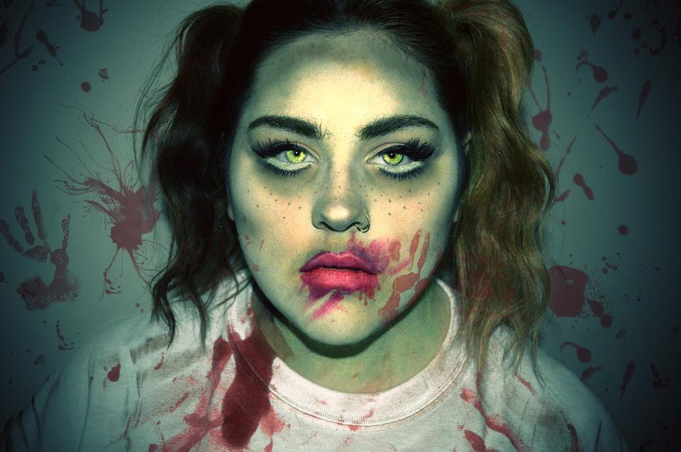 Zombie Maquillaje Halloween Foto gratis en Pixabay