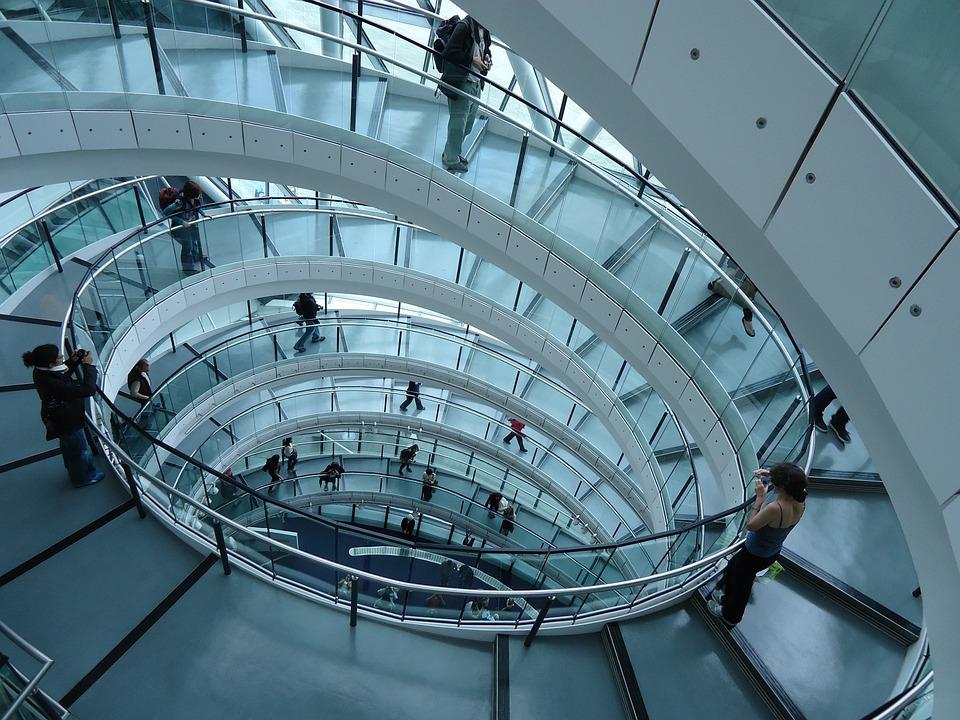 Architectuur trap moderne gratis foto op pixabay
