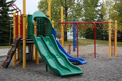 Playground, Empty, Lonely, Quiet, Nobody