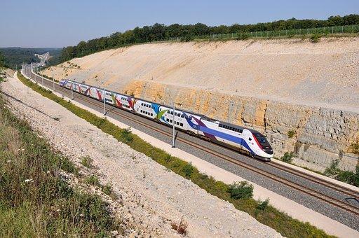 Train, Tgv, Train 746, Lgv